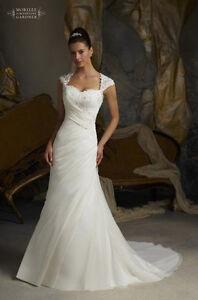 New-White-Ivory-Wedding-Dresses-Custom-Size-6-8-10-12-14-16-18-20