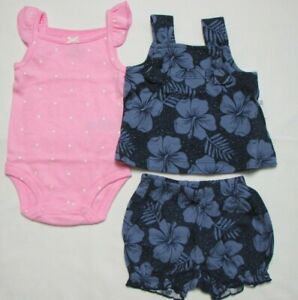 Baby Girl Clothes 3 Months Carter S 3 Piece Set New With Tags Ebay