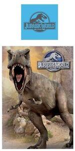 Jurassic World Park Wende Bettwäsche 135x200 Tyrannosaurus T Rex
