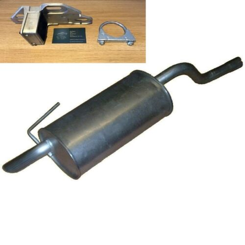 ERN815 RENAULT CLIO 1.4 16v EXHAUST SILENCER REAR BACK BOX WITH FITTING KIT