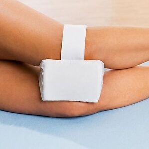 kniekissen mit klettband 18x15x10cm beinkissen schlafkissen seitenschl fer ebay. Black Bedroom Furniture Sets. Home Design Ideas