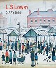 L.s. Lowry Illustrated Desk Diary 2016 Flame Tree Publishing 1783615559
