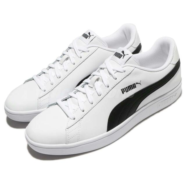 Puma Smash V2 L White Black Classic Men