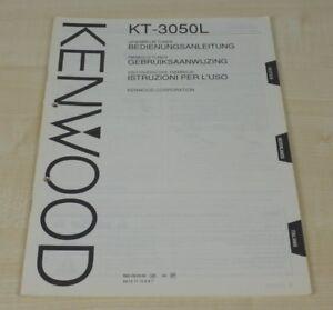 Kenwood KT-3050L Bedienungsanleitung mehrsprachig (auch in Deutsch) (2)