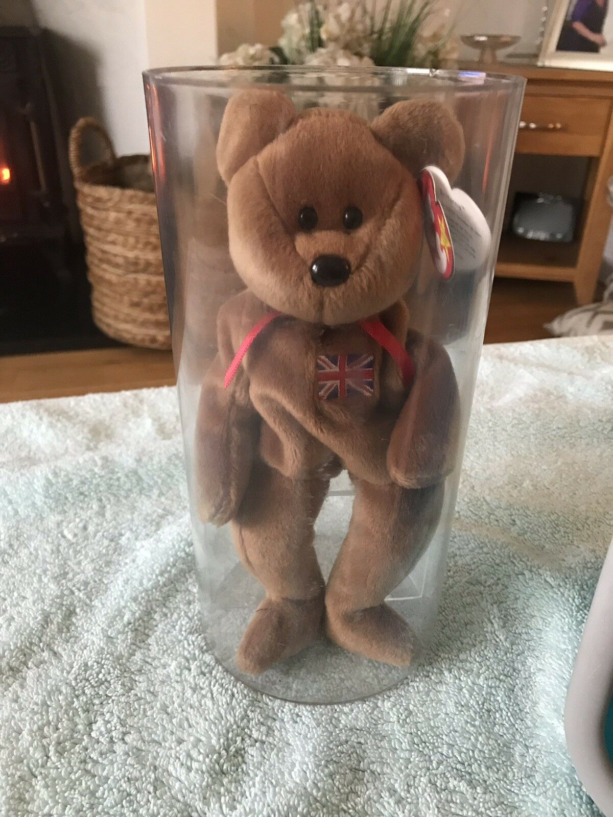 Britannia TY Beanie Baby In Immaculate Condition