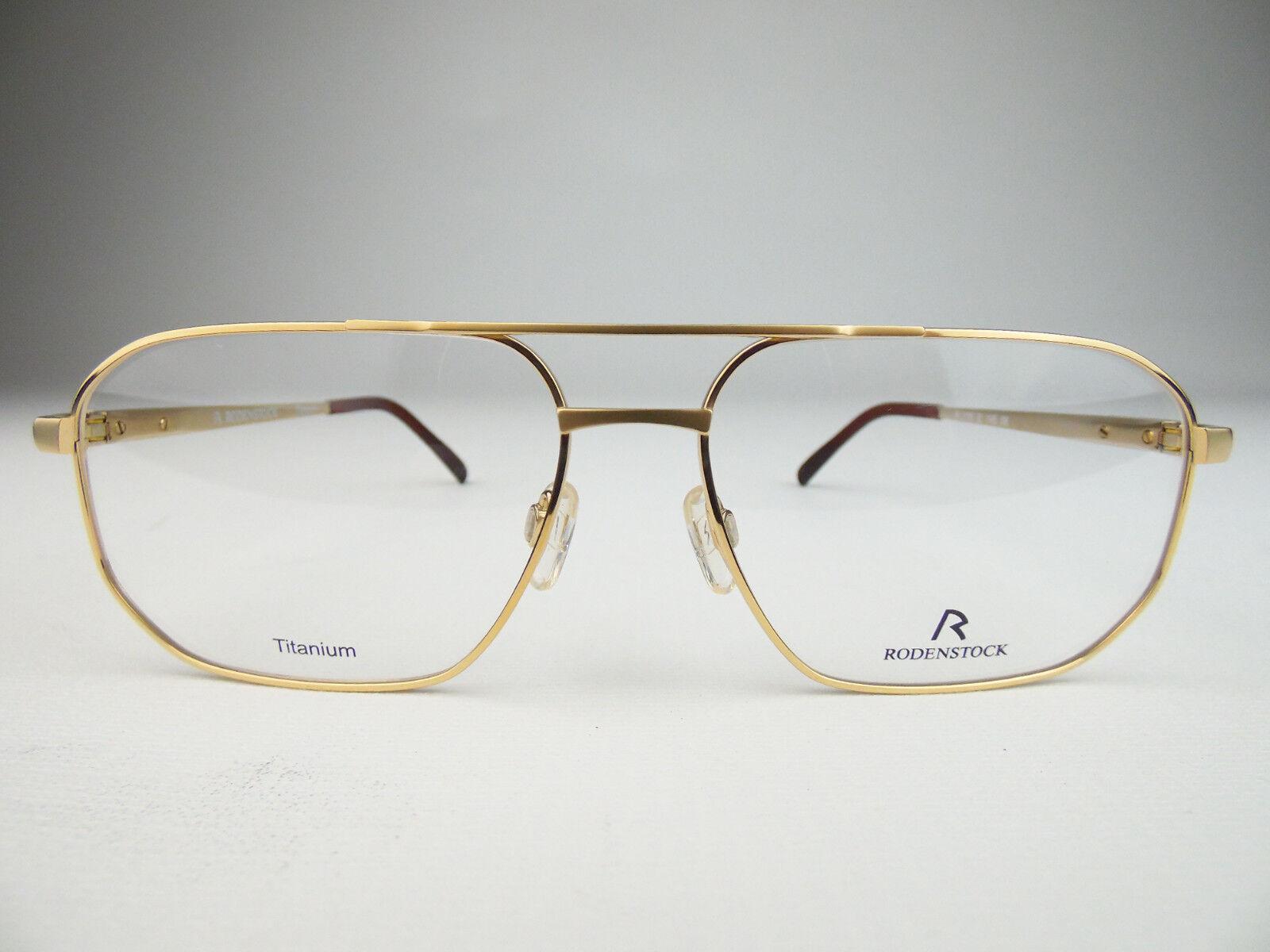 RODENSTOCK R2105 TITANIUM GERMANY Designer Brille eyeglasses frame goggles NEW