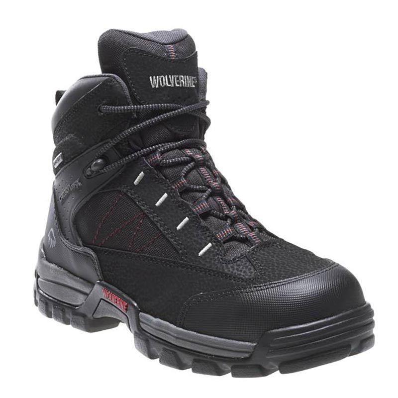 Wolverine W02363 Amphibian Work Composite Toe Gore-Tex Waterproof Work Amphibian Safety Boot 3864f4