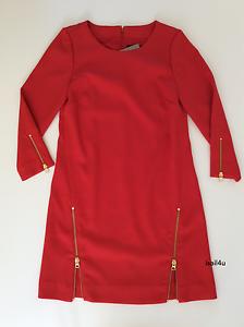 J. Dubbel - Zip Skift klädsel NWT - storlek  2 färg  Elektrisk röd