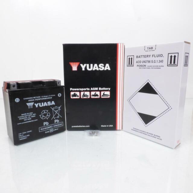 HONDA XL1000V VARADERO 97-13 YUASA BATTERY YTX20CH-BS YTX20CHBS
