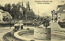 Postkaart - Brussel - Expo 1910 - Nederlands paviljoen