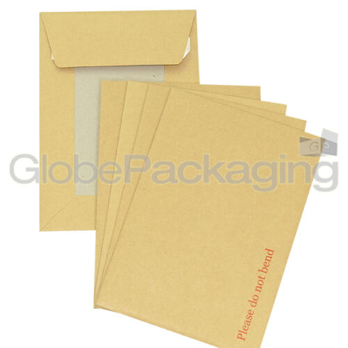 25 x C6 A6 BOARD BACK BACKED ENVELOPES 162x114mm PIP