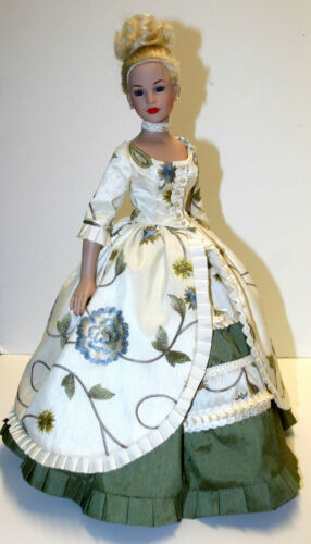 """Opulent Doll Clothes Sewing Pattern for 18/"""" Kitty Collier Dolls Tonner"""