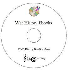 War History Ebook Collection CD E-Reader E Books KINDLE IPAD KOBO, PDF MOBI EPUB