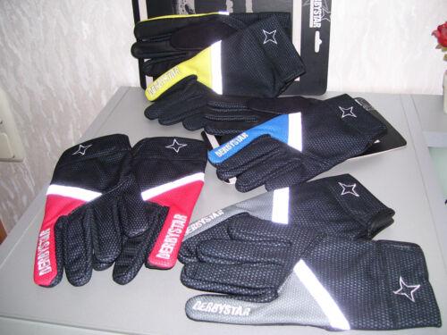 Derbystar SPH Spielerhandschuhe Feldspieler Handschuhe schwarz Size 4 5 6 8 neu