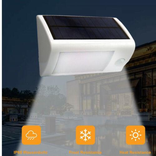 20LED Solarleuchte Solarlampe Mit Infrarot Induktion Außen Lampe Außenleuchte Yw