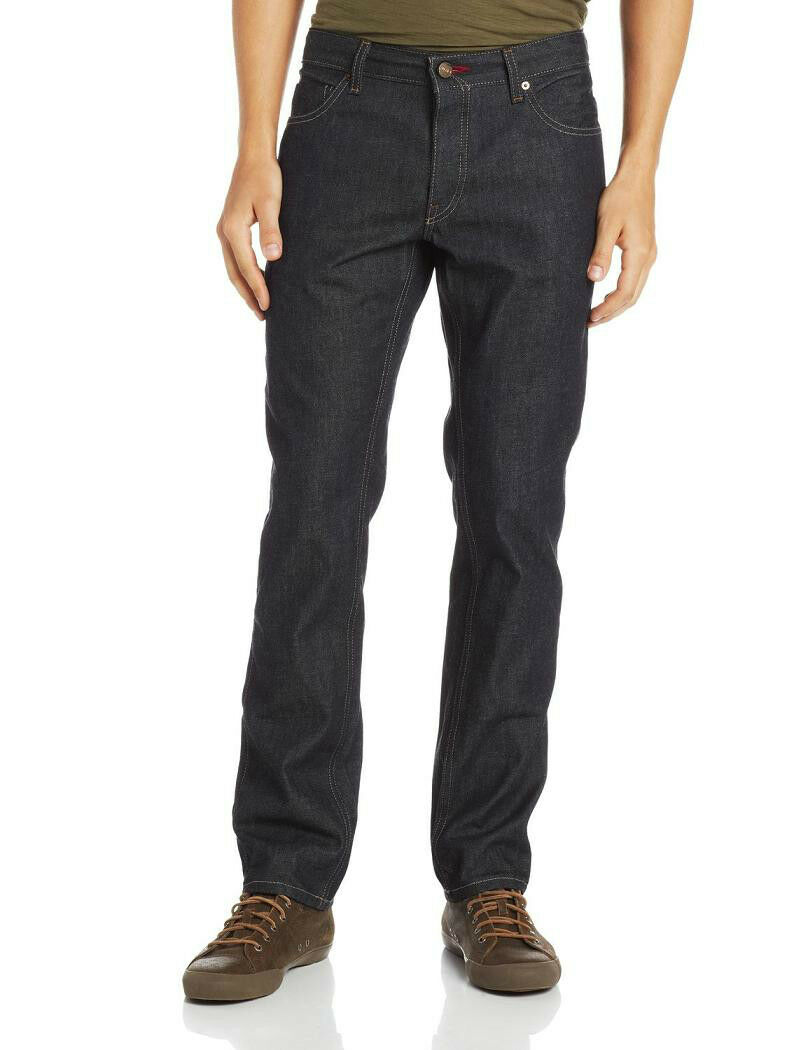 MADE IN USA Perry Ellis America Men's Slim-Fit Indigo Raw Denim Jeans NEW 34x32