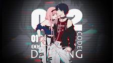 Darling in the FranXX  Strelizia  Zero Two Wallpaper Poster 24 x 14 inches