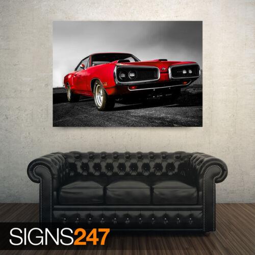 DODGE 440 CLASSIC CAR Poster Print Art A0 A1 A2 A3 AE202 CLASSIC CAR POSTER