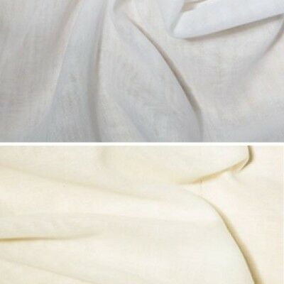 Wide Cream  Egyptian Draping Muslin 100/% Cotton Good Quality