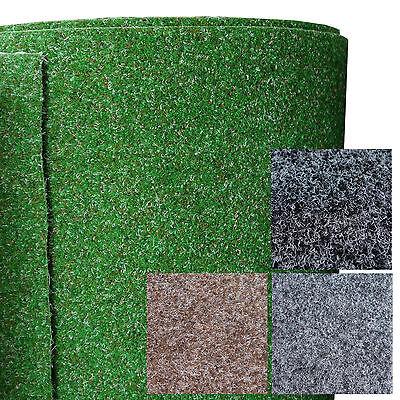 200 Kunstrasen Rasenteppich mit Noppen 250 und 400 cm Breite Meterware 133 7,5mm H/öhe ca Gr/ö/ße: 5 x 1,33 m verschiedene Gr/ö/ßen dunkel-gr/ün