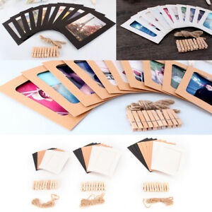 10-set-diy-wall-picture-paper-photo-hanging-frame-album-rope-clip-decoration-J-amp-S