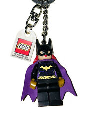 "READ /"" KEY CHAIN DC  SUPER HEROES LEGO  LOT MINIFIGURE  MINIFIG /""  BATGIRL"
