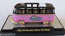 1/64 M2 Machines 1960 VW Microbus Deluxe USA Model 1 of 150 Chase Acrylic Case