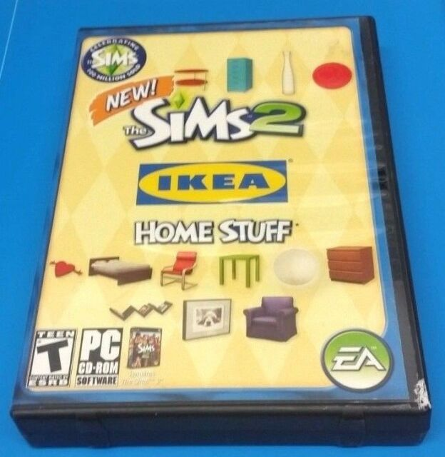 Sims 2: IKEA Home Stuff (PC, 2008)(COMPLETE)(VG CONDITION)