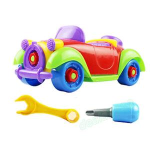 weihnachten kinder kind baby junge demontage klassisch auto fahrzeug spielzeug ebay. Black Bedroom Furniture Sets. Home Design Ideas