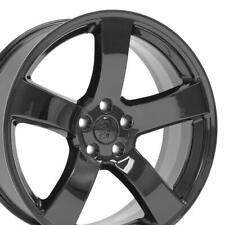 20x8 Gloss Black 2296 Wheels Set4 Fit Chrysler 300 Dodge Charger Challenger