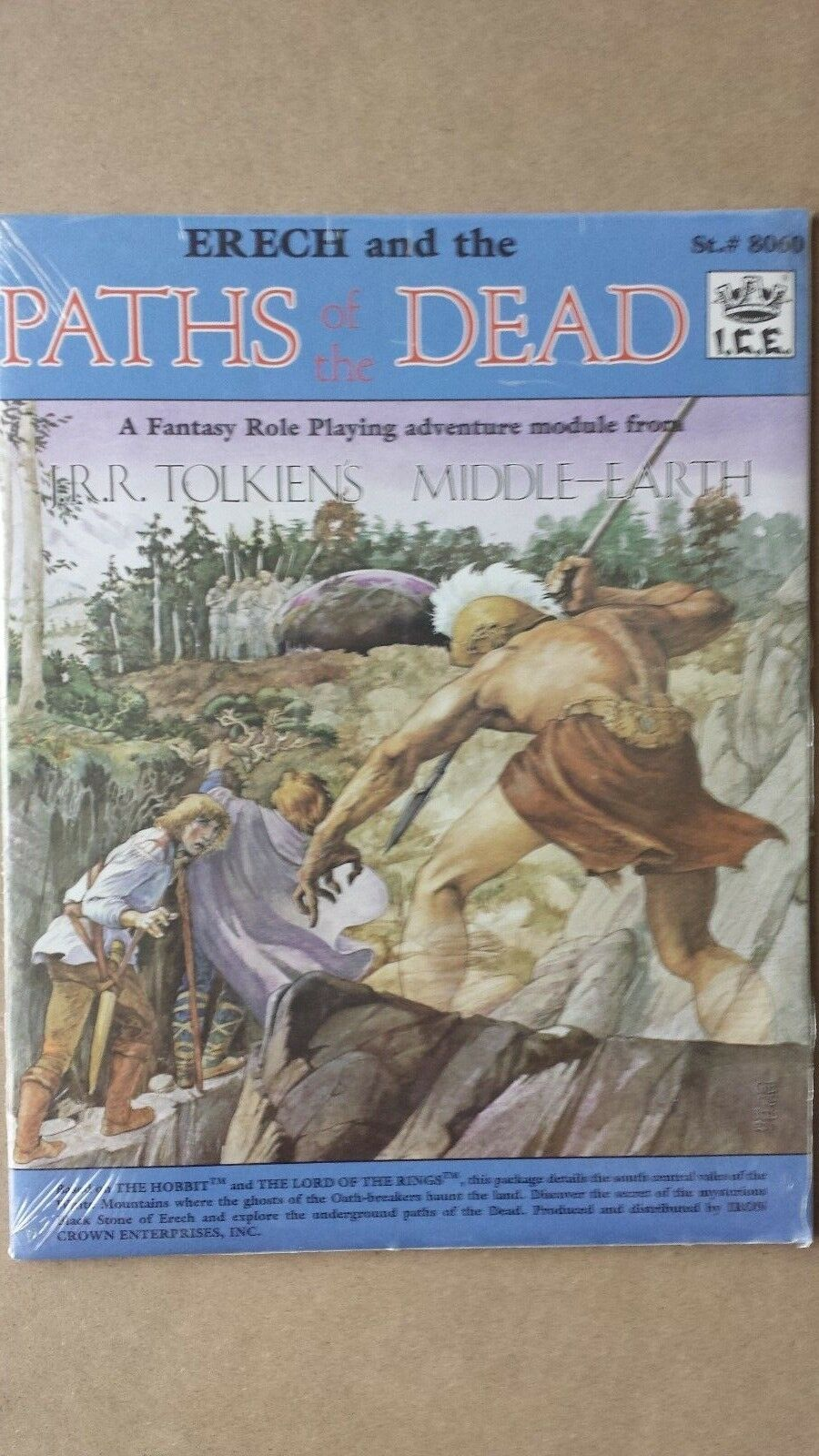 nuovo  MERP Middle Earth Erech e the Paths of the Dead 8060 FACTORY SEALED  fantastica qualità