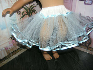 TEAL TULLE CRINOLINE  Fit CHATTY CATHY
