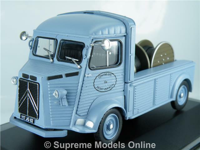 CITROEN TYPE HY 1963 PLATEAU PORTE BOBINES 1 43RD blueE COLOUR EXAMPLE T3412Z(=)