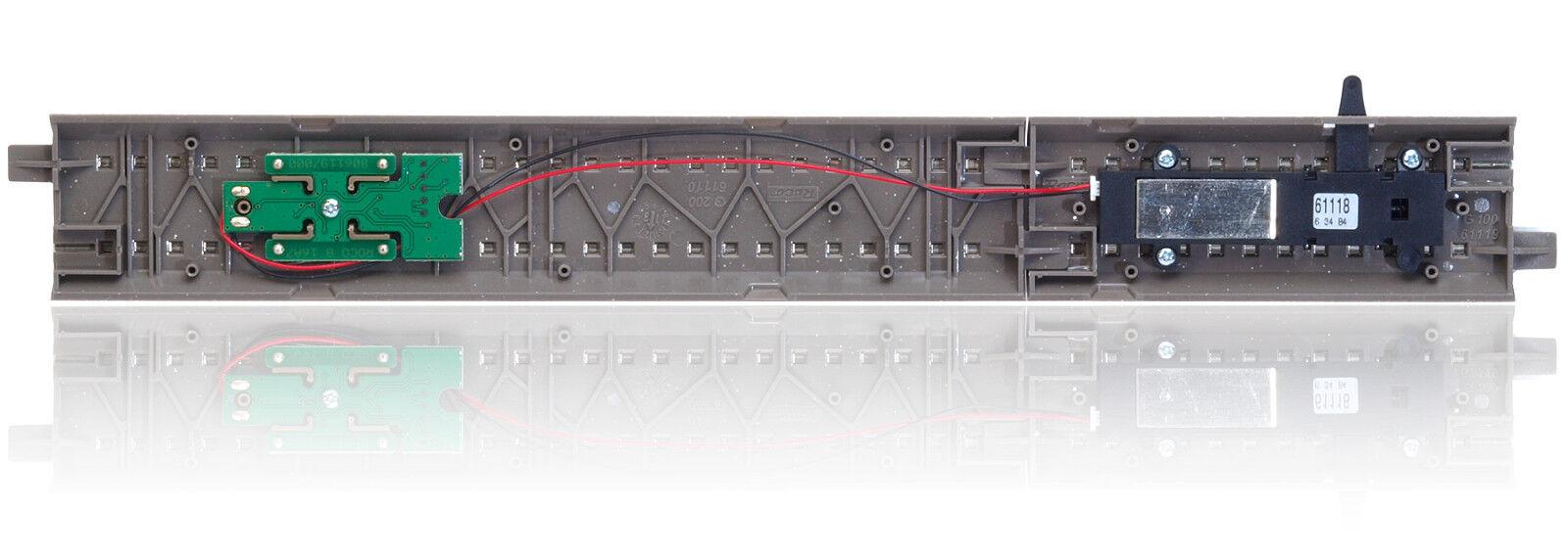 Roco 61118 H0 H0 H0 Entkupplungsgleis mit Antrieb und Decoder  NEU  | Sale Düsseldorf  de2f1f