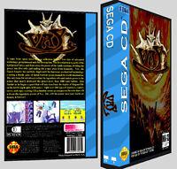 Vay - Sega Cd Reproduction Art Dvd Case No Game