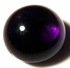 NATURAL UNIQUE TOP DEEP PURPLE AMETHYST LOOSE GEMSTONE (5.3mm) ROUND CABOCHON