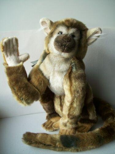 1 Saimiri Affe 30 cm Hansa Toy Plüschtier Stofftier anima 5493 Squirrel monkey Stofftiere