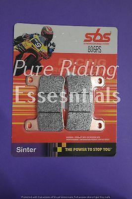 2X SBS Brake Pads 806RS