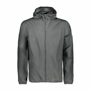 "AgréAble Cmp Fonction Veste Veste On Jacket Fix Hood Marron Coupe-vent Imperméable-d"" afficher Le Titre D'origine"