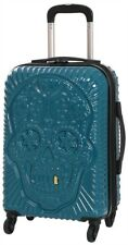 """IT Luggage Grillz 21"""" Carry On Spinner Expandable Suitcase - Legion Blue"""