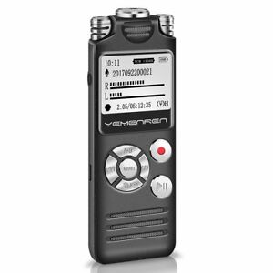 Digital-Voice-Activated-Recorder-8GB-Audio-Recorder-Dictaphone-Rechargeable-gift