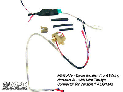 JG Golden Eagle Mosfet Front Wiring Harness MINI Airsoft AEG Version on