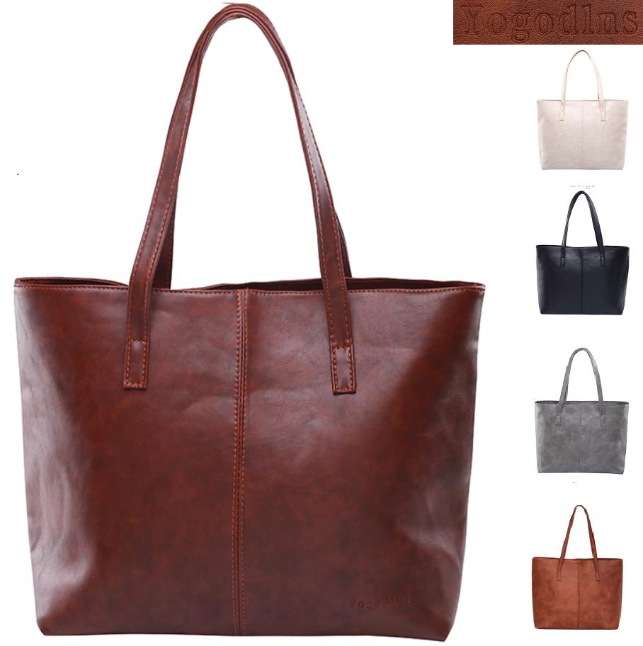 In Fashion Women Leather Tote Handbag Purse Messenger Shoulder Bag Satchel