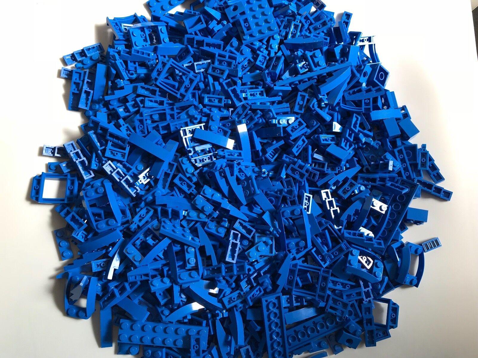 600g LEGO PARTS Blau small rare finishing parts STAR WARS CITY BATMAN MARVEL