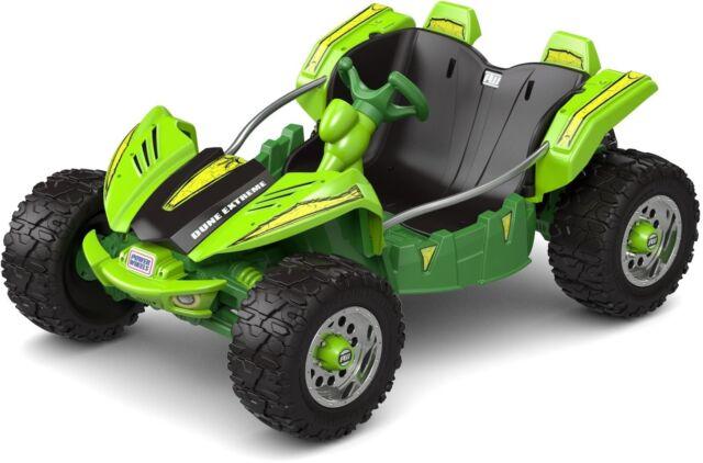 Ride On Buggy Kids Dune Racer Wheels 12v Electric Battery Ed Green