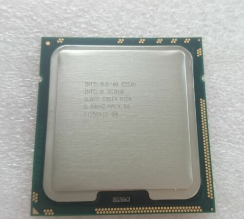 1 von 1 - Intel Xeon E5504 / 2.00GHz / 4MB / QPI 4.86GT/s (SLBF9) 1366 server Processor