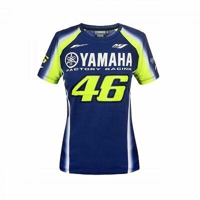 GENUINE YAMAHA MOTOGP VALENTINO ROSSI VR46 THE DOCTOR LADIES TEE T-SHIRT