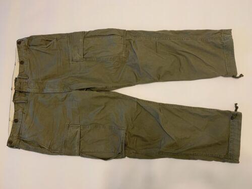 RRL Cotton Surplus Cargo Pant sz. 40x32 Dark Olive