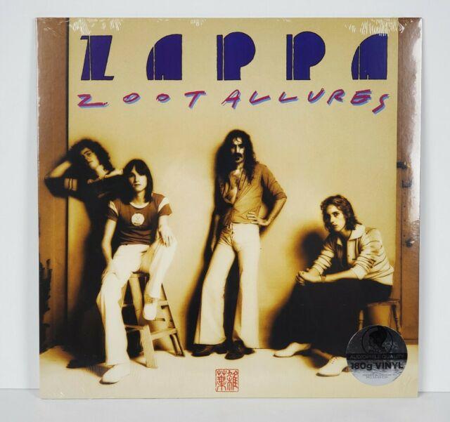 Vinyl Frank Zappa Zoot Allures Ebay
