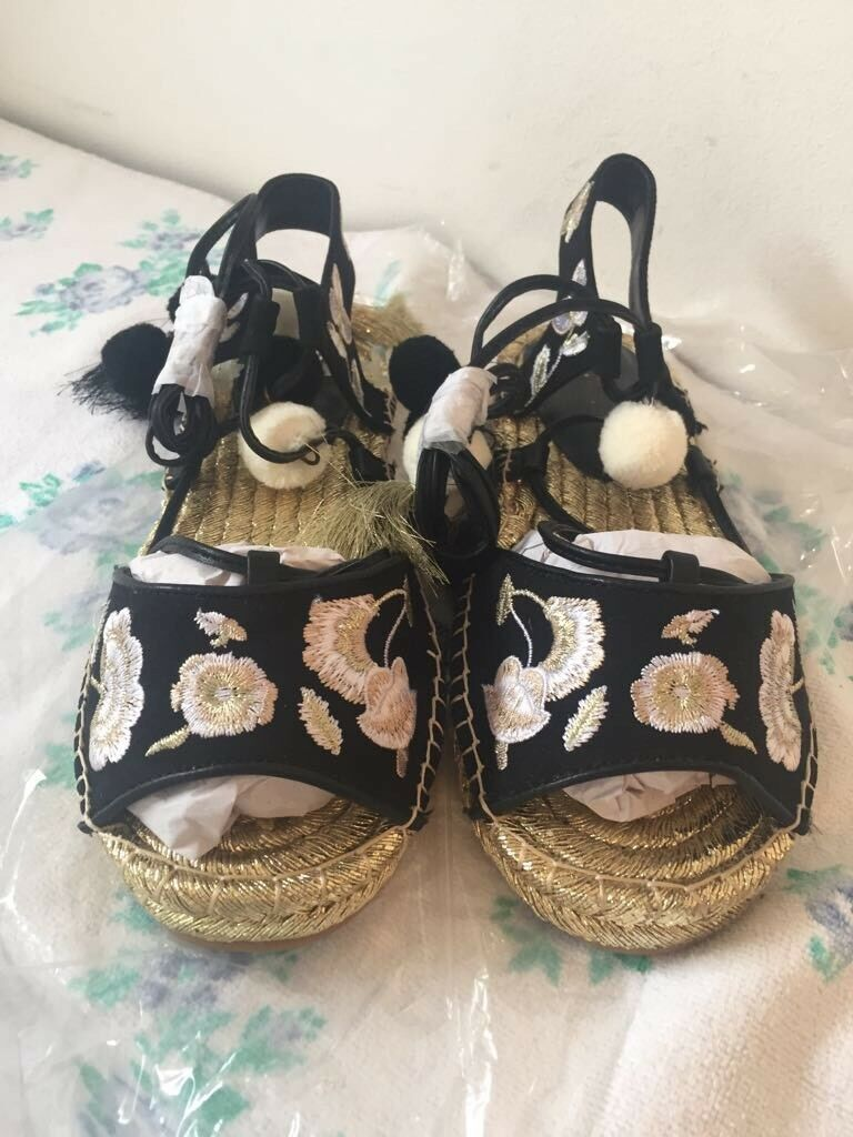 LADIES RIVER ISLAND SANDALS 5 SIZE 5 SANDALS RRP 46008d